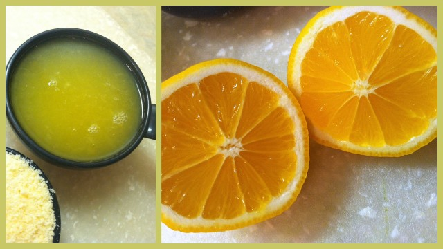 Meyer Lemon Collage
