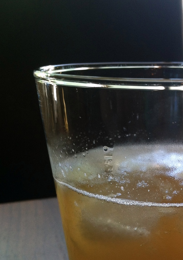 partial close up cocktail