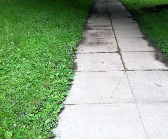 sidewalk close up - edited
