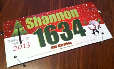 Holiday Half Bib 2013 - edited