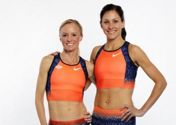Nike Photo: Shalane Flanagan & Kara Goucher