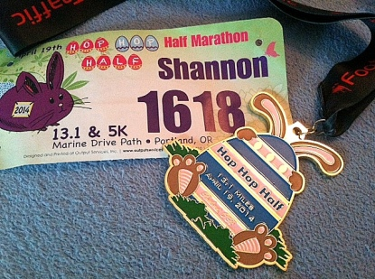 Hop Hop Half Medal and Bib - edited